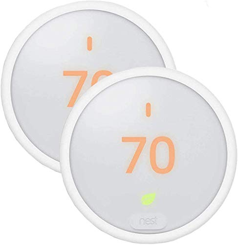 2 Pack Learning Thermostat E for Home Smart Thermostat - T4000ES, White