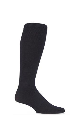 Sock Shop calzini di volo calze per TVP Unisex in 4 sizes 80 DEN (37-40 eur, Nero)