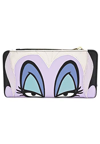Faux Leather Wallet Loungefly The Little Mermaid Ursula Standard