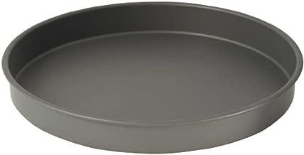 WINCO Round Cake Pan, 16-Inch, Hard Anodized Aluminum,Black