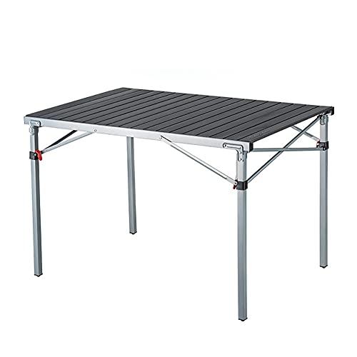 WYH Escritorio Pequeño Mesa Plegable De La Mesa De Camping De Aluminio Portátil con Bolsa De Almacenamiento para Interiores Al Aire Libre Mesas Plegables