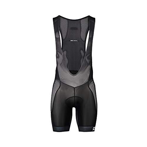 POC, MTB Air Layer Bib Shorts, Uranium Black, Large