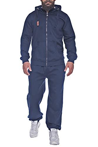 Finchman Finchsuit 1 – FMJS135 – Survêtement pourhomme – Pour le jogging et le sport - Bleu - Large