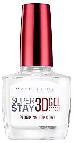 Maybelline New York SuperStay 3D Efecto Gel Top Coat, Esmalte de Uñas
