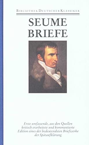 Werke und Briefe in drei Bänden: Band 3: Briefe