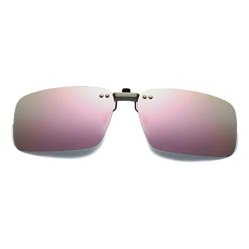 NAVARCH Clip Unisex Polarizzata su Occhiali da Sole per Occhiali da Vista Clip On Occhiali per Pesca Ciclismo Sport Outdoor Occhiali Miopia Clip on Occhiali da Vista