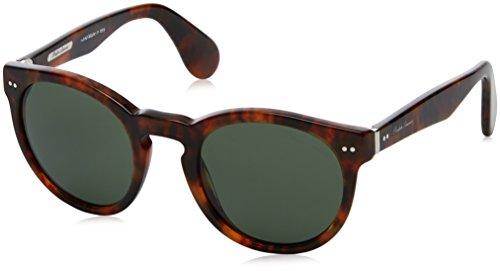 Ralph Lauren 0RL8146P1752 Occhiali da sole, Marrone (Jerri Havana/Green), 49 Uomo