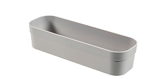CURVER | Casier Infinity M, Gris Clair, 23 x 7,7 x 5,1 cm, Plastique recyclé