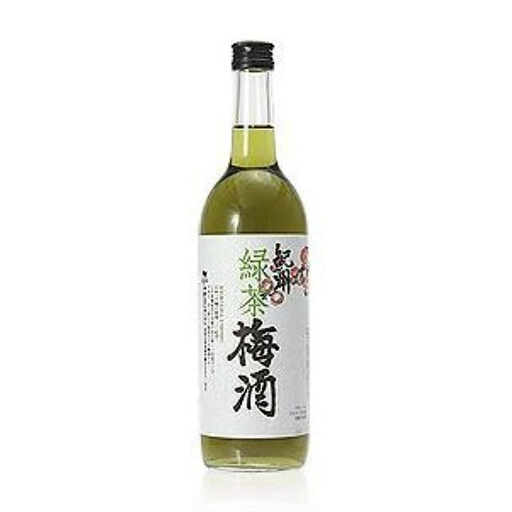 繊維コントロール手つかずの中野BC 紀州「緑茶梅酒」 720ml