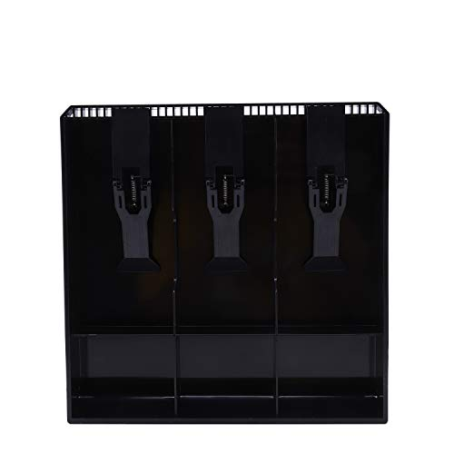 Gesh Bandeja de repuesto para cajón, caja de almacenamiento de dinero en efectivo, para registro, color negro