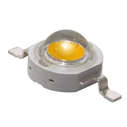 1W 3W Hochleistungs-LED-Leuchtdiode Pflanzenlampe Grow Licht Komponente für Leiterplatten PCB, 3W, Full Spectrum PAR (380-840nm), 5 x LEDs