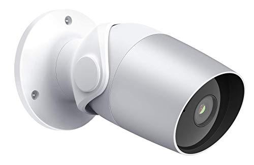 Überwachungskamera Aussen WLAN Kamera 1080P FHD, O1 Heimüberwachungskamera IP Kamera IP65 Wasserdicht, Nachtsicht, Zwei-Wege-Audio, Bewegungserkennung - Smart Bullet Camera mit Alexa (O1)