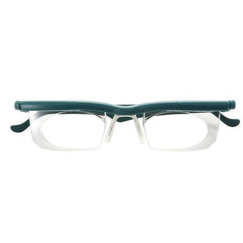 【自分で度数調節できる老眼鏡】アドレンズ ライフワン (遠視/近視/老眼に対応) (グリーン)