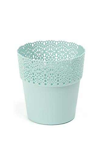 Lamela Übertopf Bella in versch. Farben und Größen, Farbe:Mint, Größe:11.5 cm