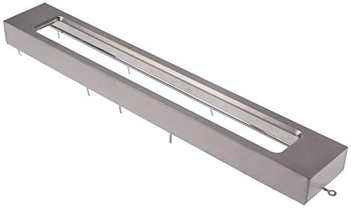 Horeca-Select GMW1030 - Marco para microondas (ancho: 72 mm, altura: 34 mm, longitud: 484 mm)