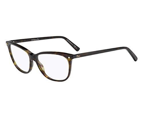 Dior Für Frau Cd3270 Dark Tortoise Kunststoffgestell Brillen, 53mm