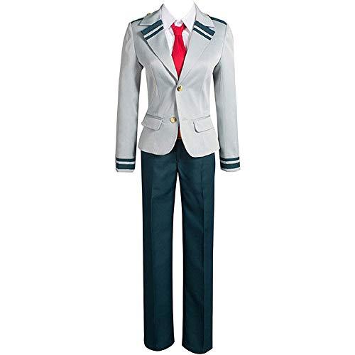 SGOT My Hero Academia Kostüme, Studenten Uniform My Hero Academia Cosplay, Coat + Rock(Optional Pants) + Hemd + Krawatte(S Style 02)