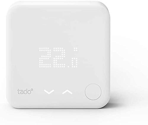 tado° Smartes Thermostat - Zusatzprodukt für Einzelraumsteuerung, Intelligente Heizungssteuerung, Einfach selbst zu installieren, Designed in Germany