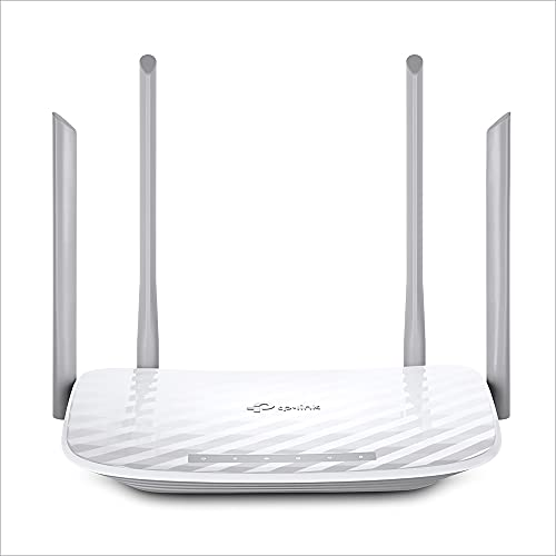 TP-Link Archer C50 Router Wi-Fi AC1200, Dualband 300 Mbps/2.4 GHz e 867 Mbps/5 GHz, IPv6, Bianco