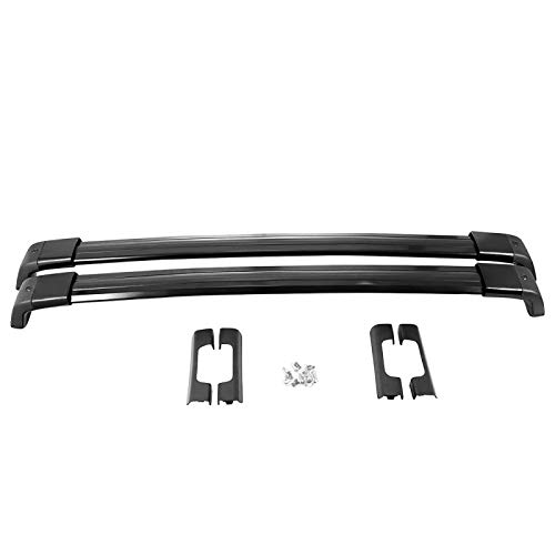Qwldmj Pair OE Style Aluminum Bolt-on Top Roof Rack Cross Bar Luggage Carrier for Nissan X-Trail 2008 2009 2010 2011 2012 2013