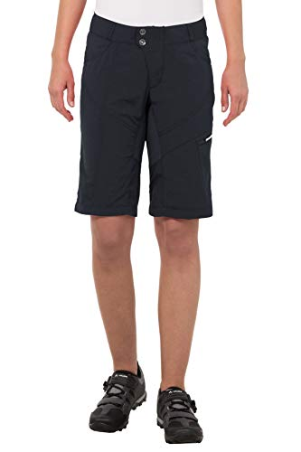 VAUDE Damen Tamaro Shorts Hose, Black, 34 - 2
