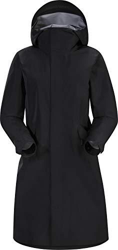 Arc'teryx Andra Coat Women's | Everyday Gore-Tex Rain Jacket | Black, Medium