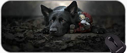 Largo XXL Mousepad, Caucho de Goma para Perros Pet