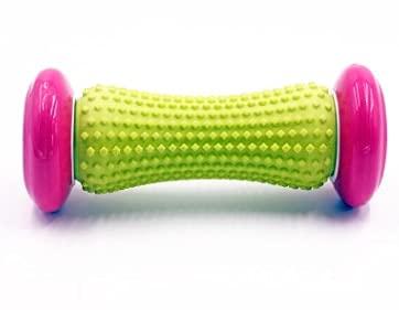 Juan-375 Rodillo de Masaje de pie de Caucho Suave Hard Spiky Ball Tisú Profundo Acupresión Recuperación Relájese Hombro Trasero del pie (Color : Pink)
