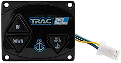 Trac Outdoors Anchor Winch AutoDeploy Second Switch Kit - Features Up/Down/Auto Operation - for Use with TRAC AutoDeploy Electric Anchor Winches, Angler & Deckboat Models (69042)
