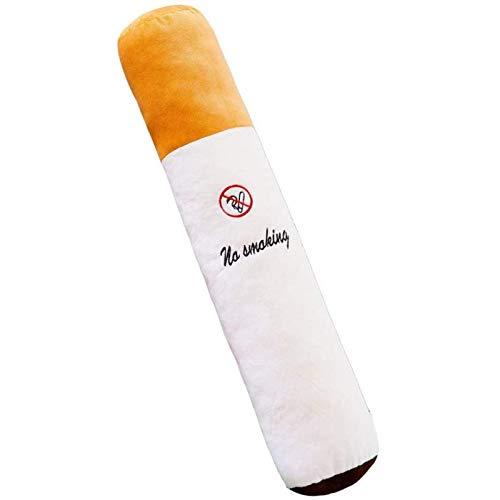 Ulyjcq Almohada de Peluche, Altura: 50 cm Cigarrillo Parada para Fumar Juguetes de Peluche Deje de Almohadas de Botella para esposos y Amigos