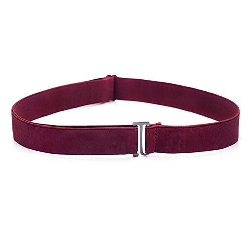 DSY Cinturón de Cintura sin Hebilla de Moda para Pantalones Vaqueros, sin Hebilla, Estiramiento de Cintura Elástica para Mujeres/Hombres, sin Cinturón de Complicidad guitarras / 1