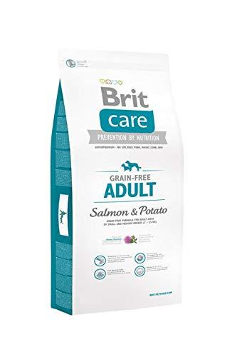 Brit Care Grain-Free Adult Salmon & Potato Comida para Perros - 12000 gr