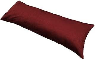 Best burgundy body pillow Reviews