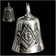 MASONIC Gremlin Bell guardian biker harley motorcycle good luck charm