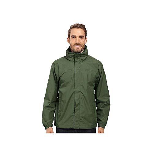 YONGYONG Herren Outdoor-Mode Jacke Dünn Wasserdicht Und Atmungsaktiv Reise Wandern Camping Bergsteigen Bekleidung (Color : Green, Size : L)
