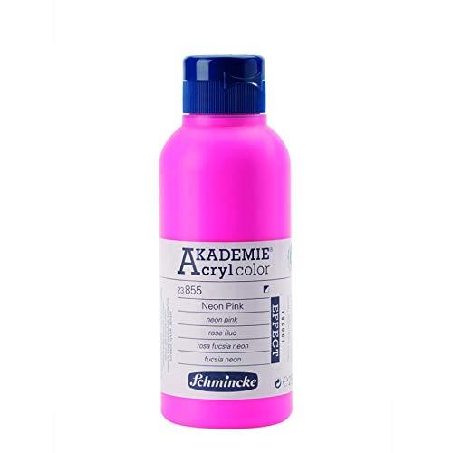 Schmincke Neon Pink 250ml Acrylfarbe - Akademie Acryl 23 855 027
