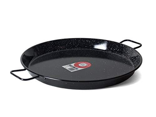 Poêle à paella en acier émaillé La paella, 5020645