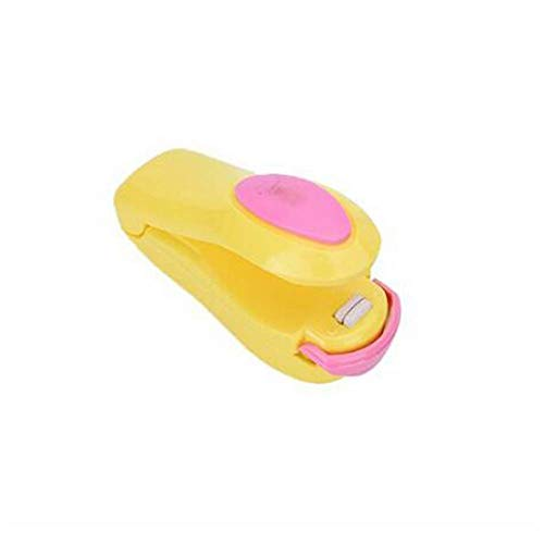 Cxjff Portátil de presión de sellado, de la mano del sellador plástico mini portátil Snacks sellado de la máquina sellador for el sellado de Snacks, Quick Seal
