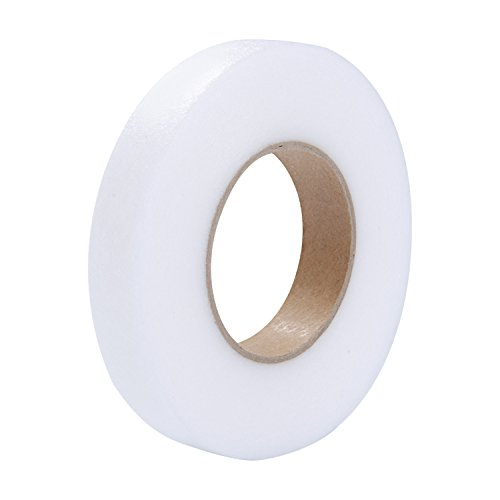 Outus 70 Yards Iron On Hem Tape Fabric Fusing Hemming Tape No Sew Hem Tape Roll for Jeans Trousers Garment Clothes (20 mm Wide)