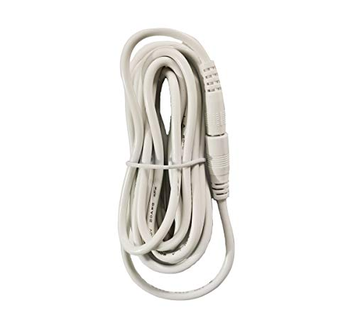10 Feet 5V Foscam White IP Camera Universal Extension Cable Compatible with 5V Power Adaper for Home Security Camera CCTV 1.35x3.5mm DC Plug