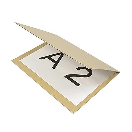 アースダンボール ダンボール 段ボール 板 A2 120サイズ 折れ防止 発送 補強板 保護 20枚 【620×450×6mm】【1285】