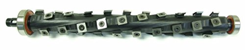 Byrd Tool Shelix cutterhead for Dewalt planer DW735