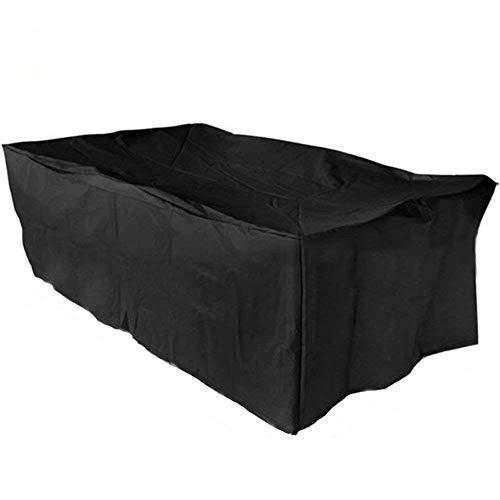 Yontree Funda para Muebles de Jardín Impermeable Protección contra Lluvia y Sol 242 * 162 * 100cm
