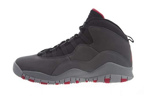 Nike Air Jordan 10 Retro (GS), Zapatillas de Deporte para Mujer, Multicolor (Dk Smoke Grey/Rush Pink/Black/Iron Grey 006), 36 EU