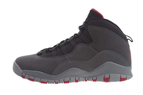 Nike Damen Air Jordan 10 Retro (gs) Fitnessschuhe, Mehrfarbig (Dk Smoke Grey/Rush Pink/Black/Iron Grey 006), 37.5 EU