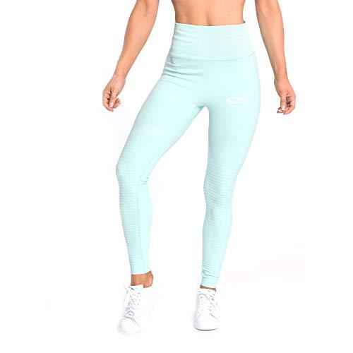 SMILODOX Damen Leggings High Waist Ivy | Seamless - Figurformende Tight für Fitness Gym Yoga Training & Freizeit | Sporthose - Workout...