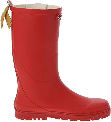 Aigle Woodypop, Unisex-Kinder Gummistiefel, Rot (Cerise), 37 EU