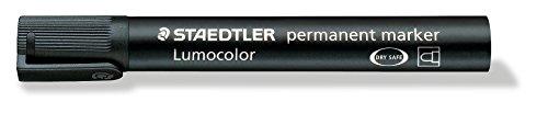 Staedtler - LumoColor 352 - Marqueur Permanent Pointe Ogive 2 mm Noir