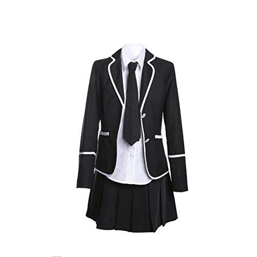 URSFUR Mädchen Japan Kostüm Langärmelige Anzug Cosplay Uniform Anime Uniform - Style 6 - XXL (Herstellergröße: XXXL)