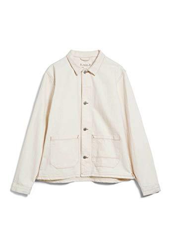 ARMEDANGELS SKYLAAR UNDYED - Damen Jeansjacke aus Bio-Baumwoll Mix S Undyed Jacken Jeansjacke Regular fit
